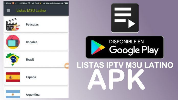 listas iptv m3u para android 2018 actualizadas hd